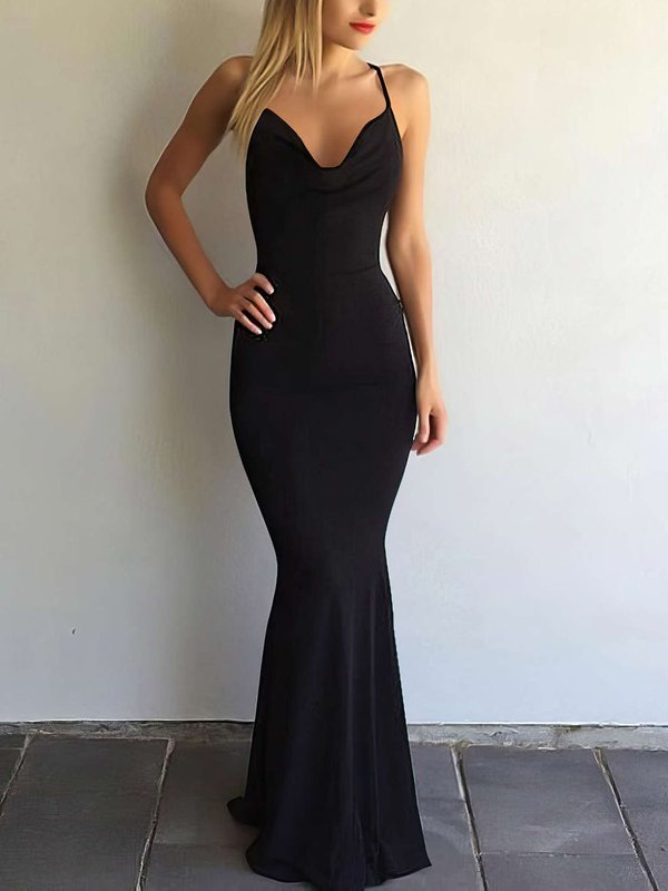 Sexy V Neck Affordable Long Dresses for Prom
