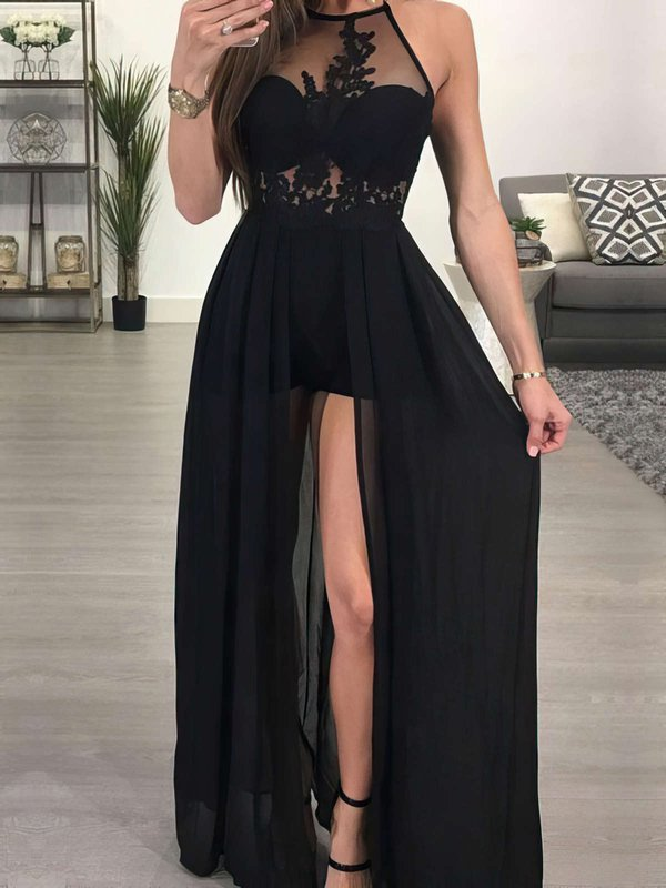 Sexy A Line Designer Long Prom Dresses with Slit