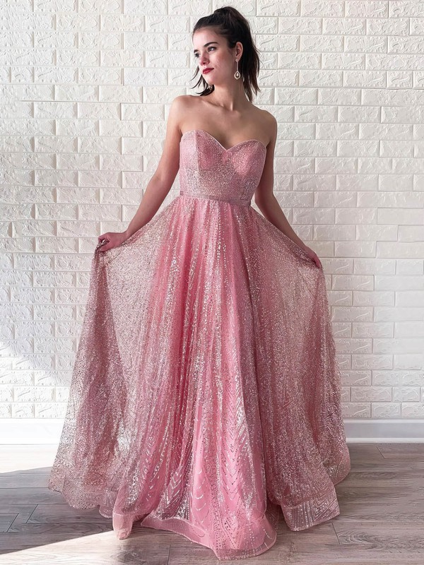 Sweet & Flow Glitter Good Long Dresses for Prom